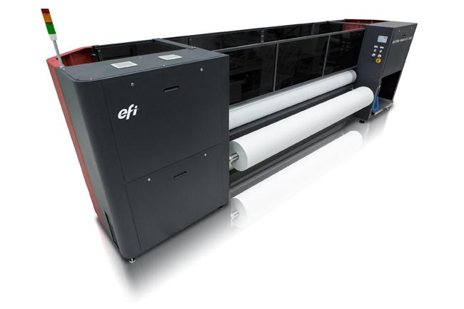 EFI Honoured with Prestigious EDP Award for Best Textile Printer