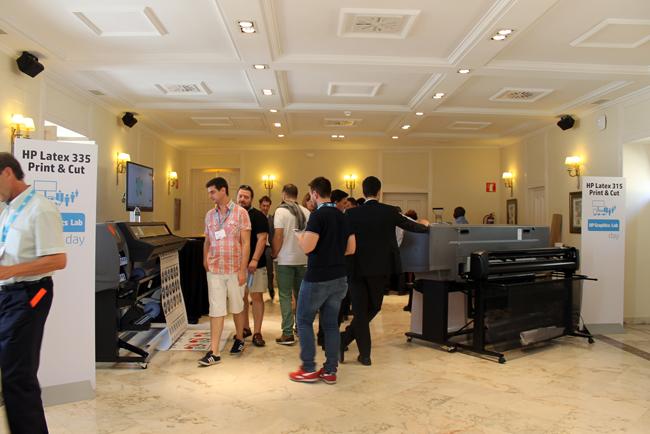 Gran éxito de la tercera jornada HP Graphics Lab en Madrid