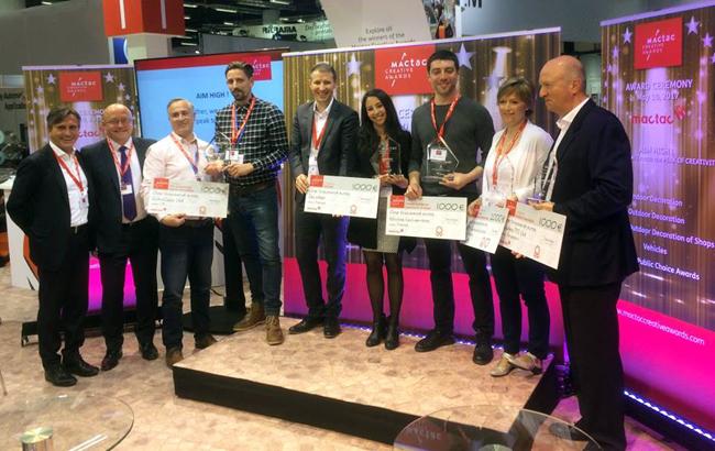 Mactac anuncia los ganadores del concurso Mactac Creative Awards2016