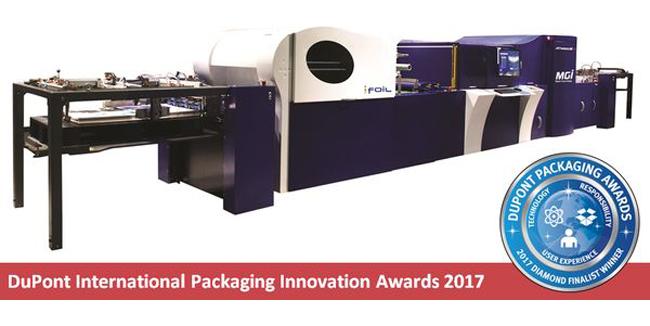 MGI Digital Technology recibe el premio internacional más prestigioso del mundo del envase y el embalaje