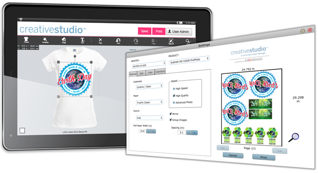 Sawgrass presenta las nuevas y apasionantes actualizaciones de Virtuoso Print Manager y CreativeStudio