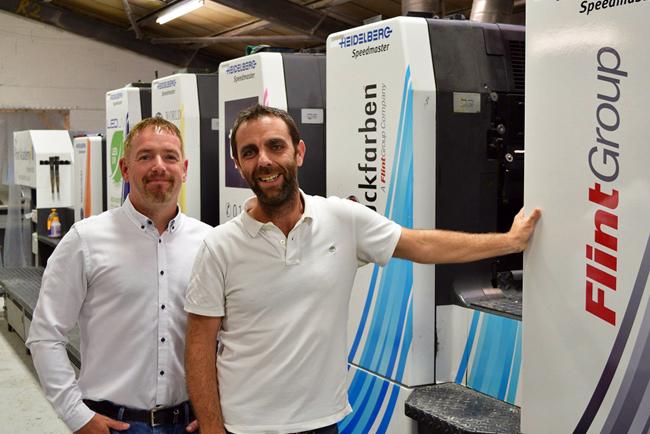 The Print Academy apunta a nuevos mercados con la tecnología de curado UV VANTAGE LED de Flint Group
