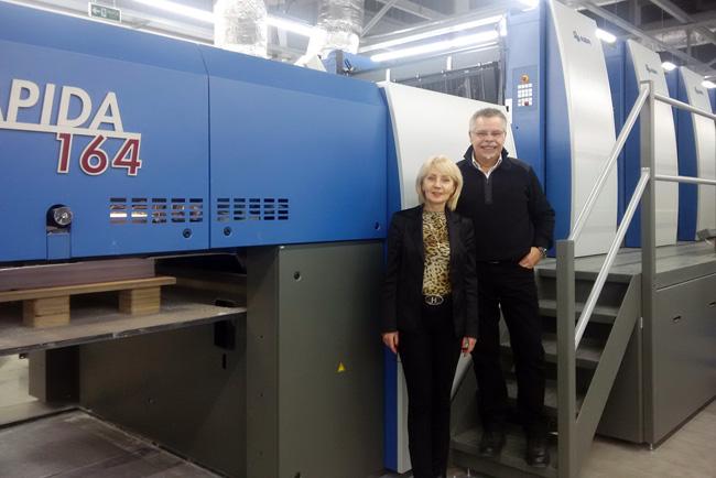 KBA coordina las principales inversiones rusas en la producción moderna de libros