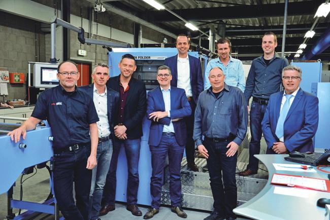 Andi Smart Print Solutions, estreno mundial 4.0 con Müller Martini