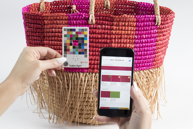 X-Rite Brings Color Measurement Accuracy to Smartphones and Online Shopping