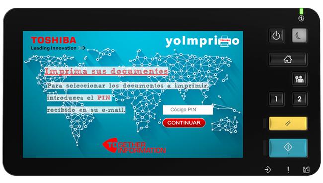 Toshiba presenta yoimprimo, una solución para imprimir desde la nube en sus multifunción