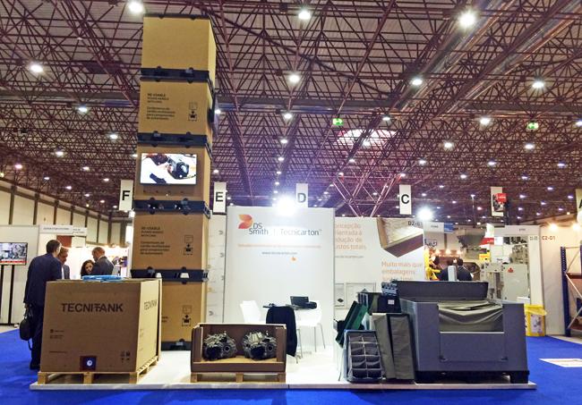 Embalajes industriales en Empack Porto de la mano de DS Smith Tecnicarton
