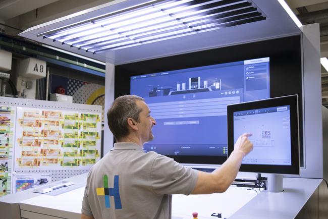 Faller reserva uno de los primeros Primefire 106 para la producción de envases farmacéuticos digitales