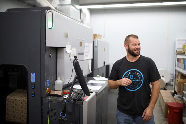 Blue Label Digital Printing integrates CERM MIS and Esko Automation Engine production system to effectively manage ten-fold growth