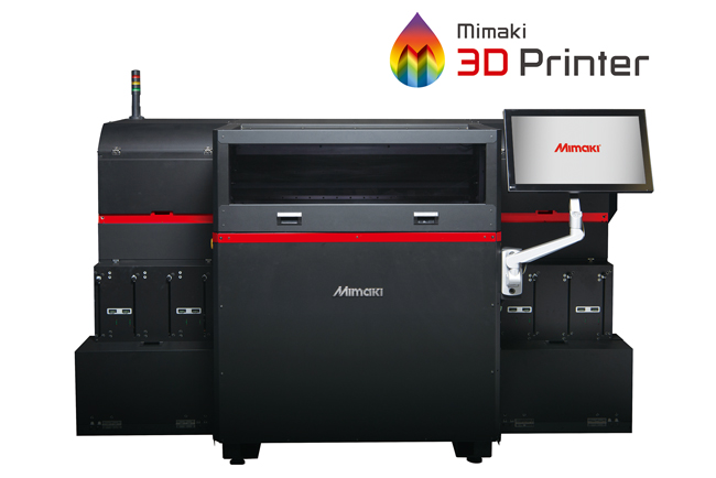 Mimaki brings photorealistic colour to 3D printing with unique 3DUJ-553 UV LED printing solution