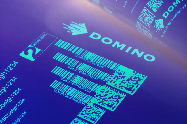 Domino to launch fluorescent security ink for its K600i printer