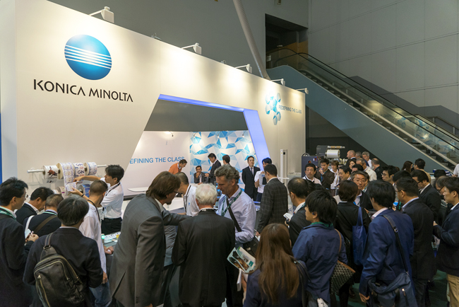 Konica Minolta impulsa el crecimiento en Labelexpo Europe