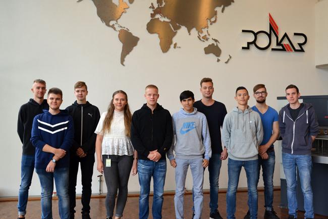 Ocho jóvenes comienzan su trayectoria profesional en POLAR