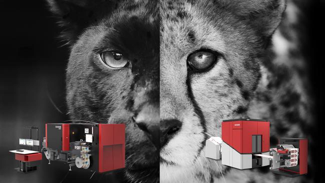 """Xeikon presenta dos nuevos """"felinos"""" en Labelexpo Europe 2017"""