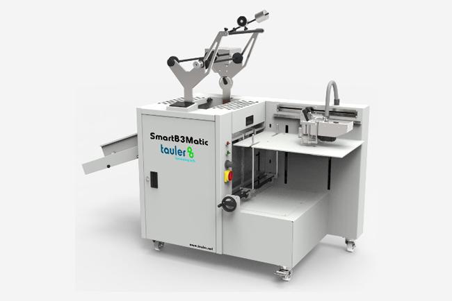 Tauler presenta en C!Print Madrid la laminadora SmartB3Matic con el nuevo kit Tauler_FOIL