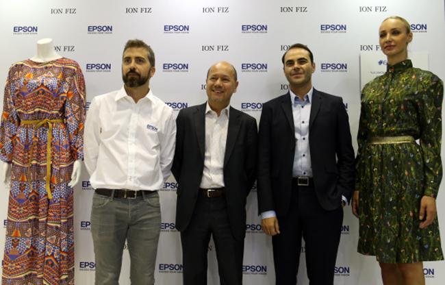 Epson presenta en C!Print 'Epson by Ion Fiz', su apuesta definitiva por la impresión digital textil
