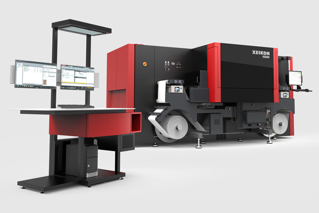 Xeikon announces new Xeikon PX2000 UV Inkjet Digital Label Press