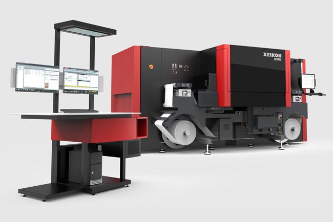Xeikon anuncia la nueva impresora digital de etiquetas inkjet UV Xeikon PX2000