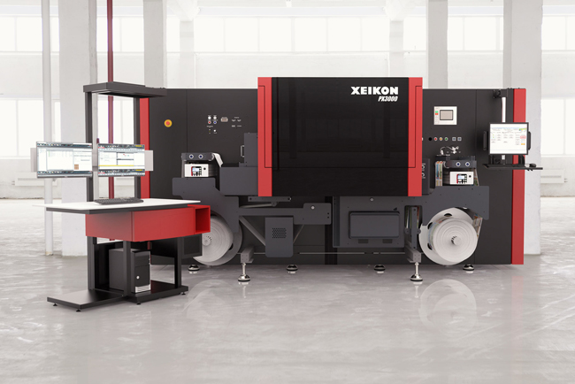 Xeikon makes a big splash at Labelexpo Europe with introduction of four new digital label presses