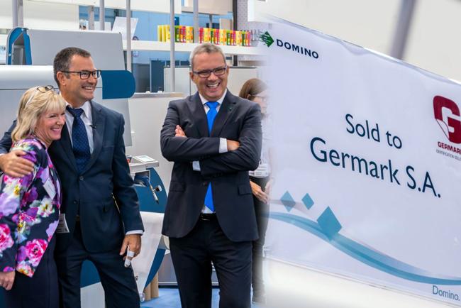 Germark invierte en la tecnología de inyección de tinta de Domino para ofrecer un mejor servicio a sus clientes