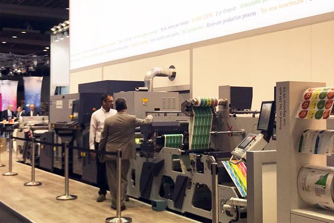 Espectacular acogida en Labelexpo de la nueva solución de Durst para la producción de etiquetas