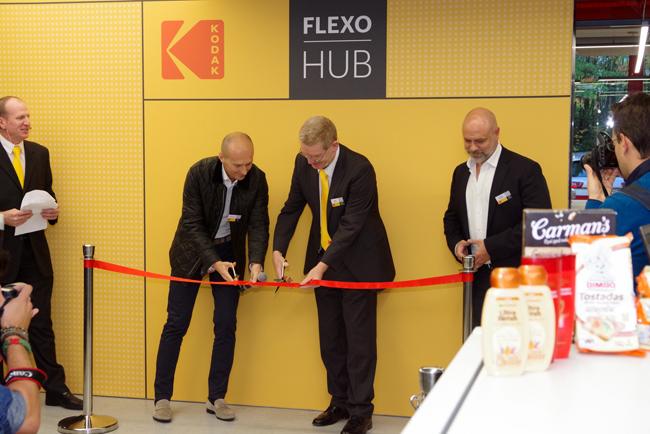 Kodak abre un innovador Flexo HUB en Bruselas