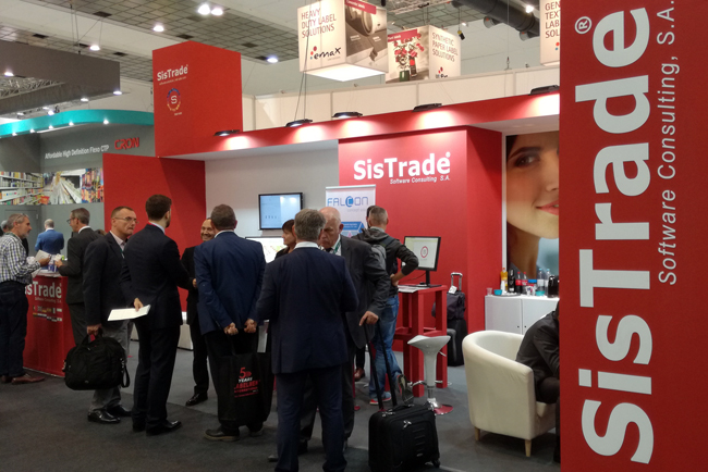 Exitosa edición de Labelexpo Europe 2017 para SISTRADE