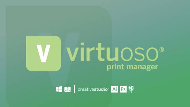 Siguiente evolución en software de controlador de impresión: Virtuoso Print Manager 5.2