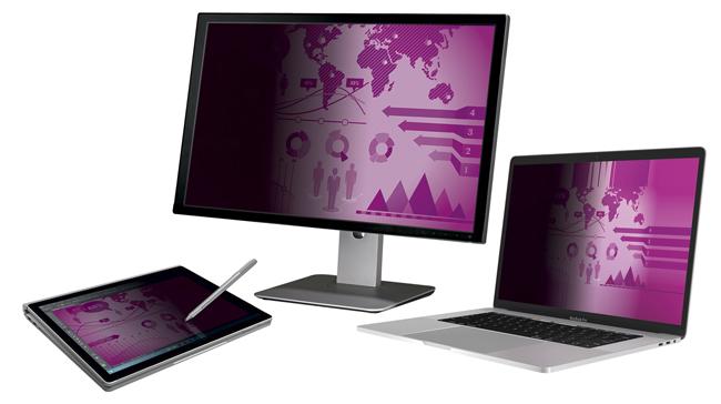El filtro de privacidad de alta claridad optimiza la experiencia de visión de pantallas de elevada resolución