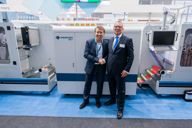 Autajon (Sinel) orders second Domino/ABG Hybrid UV Ink Jet Label Prnting System
