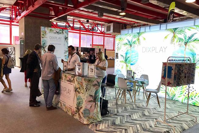 Dixplay revoluciona C!Print Madrid 2017 dando un paso más allá con la decoración de interiores