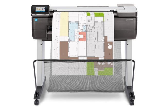 HP lanza la impresora multifunción HP DesignJet T830 de 24 pulgadas
