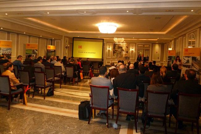 Alrededor de un centenar de profesionales acuden al Evento Kodak NexSteps en Madrid
