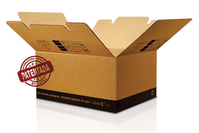 La caja CAPSA 2in1® Plus, una novedad de embalaje de Unión Papelera