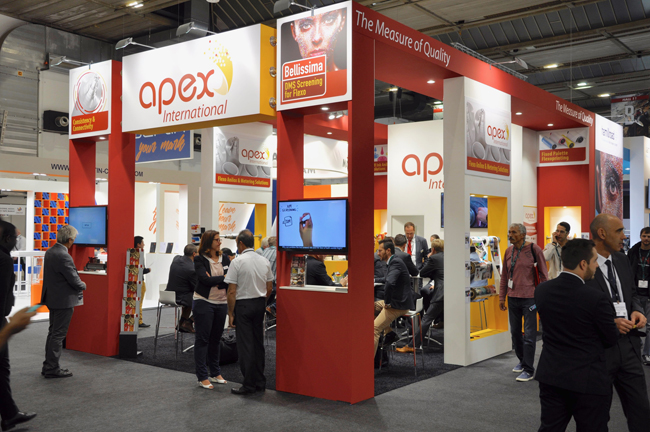 Apex International explora las tendencias en Labelexpo Europe
