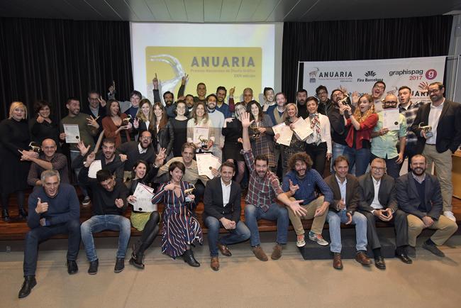 Los Premios Anuaria 2017 hacen entrega de los galardones
