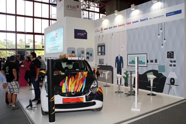 Gran éxito de Antalis en C!Print Madrid con el lanzamiento de Coala Magnéticos y su primer concurso internacional de decoración de interiores