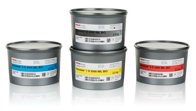 Flint Group Sheetfed anuncia el lanzamiento global de la nueva gama BIO de etiquetado en el molde, Novastar® D 2000 IML BIO