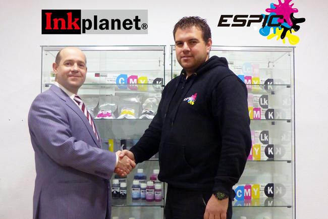 Inkplanet llega a un acuerdo de colaboración con Espic, empresa especializada en soporte técnico de todo tipo de plotters