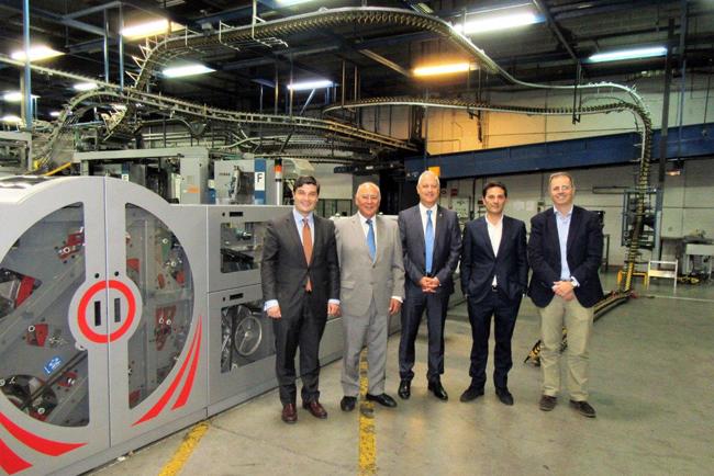 El centro de impresión de Bermont en Coslada amplía su equipamiento de encarte