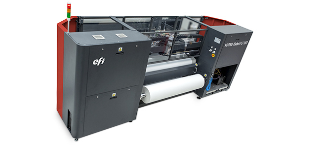 Un impresor sueco de formato ancho se pasa a la EFI VUTEk FabriVU para producir rótulos textiles