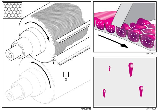 St-Luc Labels & Packaging resuelve el problema de las salpicaduras de tinta UV con la tecnología anilox GTT de Apex