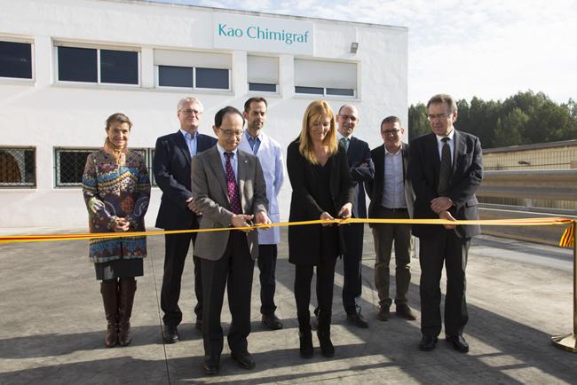 Kao Chimigraf inaugura una nueva fábrica de tintas líquidas adyacente a su Fábrica Central en Rubí