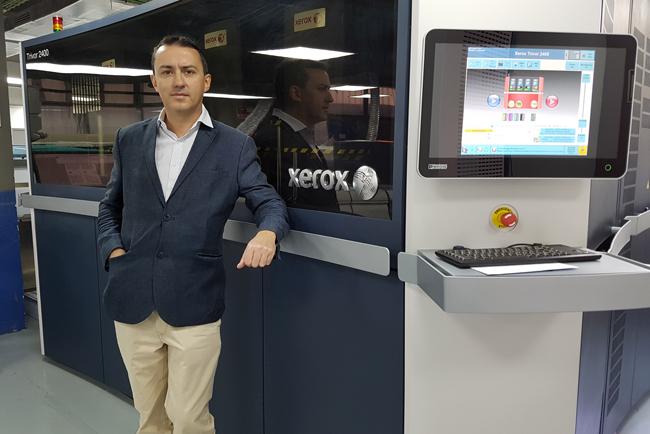 Fragma apuesta por el negocio de la impresión digital de libros con la Xerox Trivor 2400 Inkjet Press