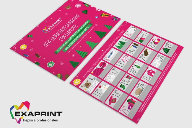 Exaprint ofrece, durante todo el mes de diciembre, descuentos diarios para sus clientes