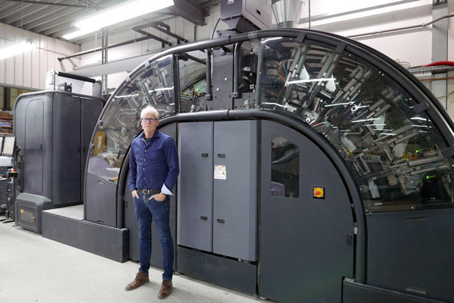 Ovimex B.V. expands business in digital print  with HP Indigo 30000 Digital Press and finishing equipment