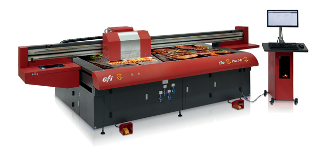 EFI Continues Innovation with Newest Dedicated Flatbed Printer