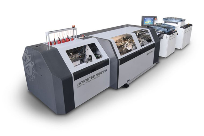 Screen y Meccanotecnica colaboran para optimizar el acabado de libros de calidad superior