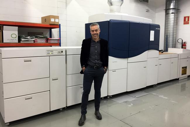 Prodigitalk afianza su relación con Xerox para aumentar su capacidad productiva y velocidad de impresión