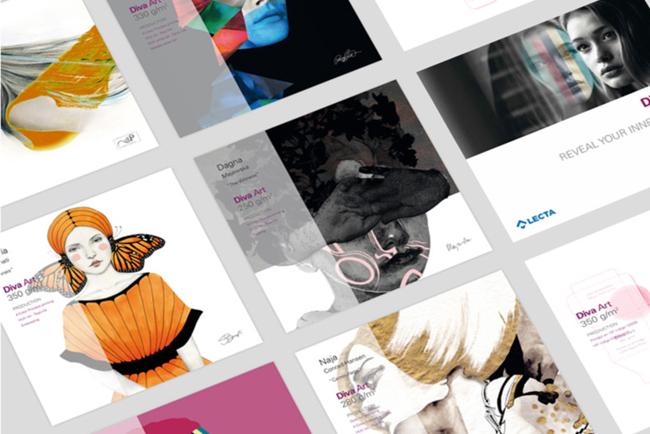 Diva Art, la nueva cartulina gráfica de Lecta para potenciar el talento creativo